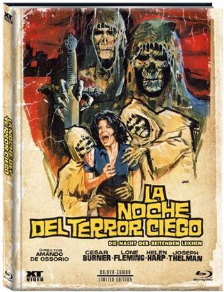 La Noche del terror ciego - Die Nacht der reitenden Leichen (1972) (Cover B, Limited Edition, Mediabook, Blu-ray + DVD)