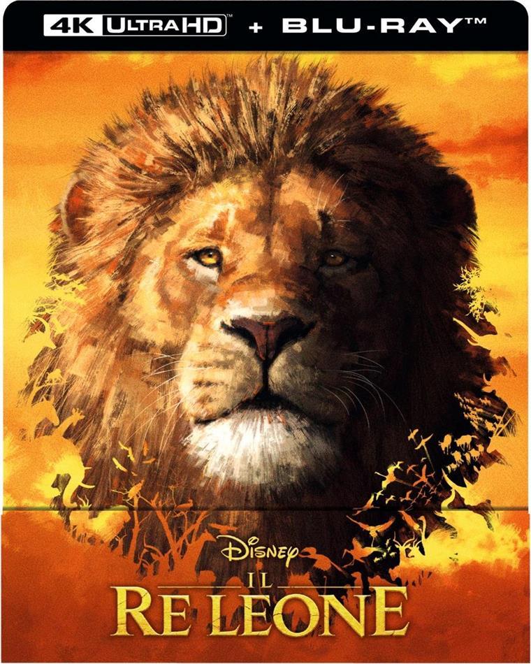 Il Re Leone (2019) (Edizione Limitata, Steelbook, 4K Ultra HD + Blu-ray)