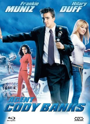 Agent Cody Banks (2003) (Cover C, Limited Edition, Mediabook, Blu-ray + DVD)