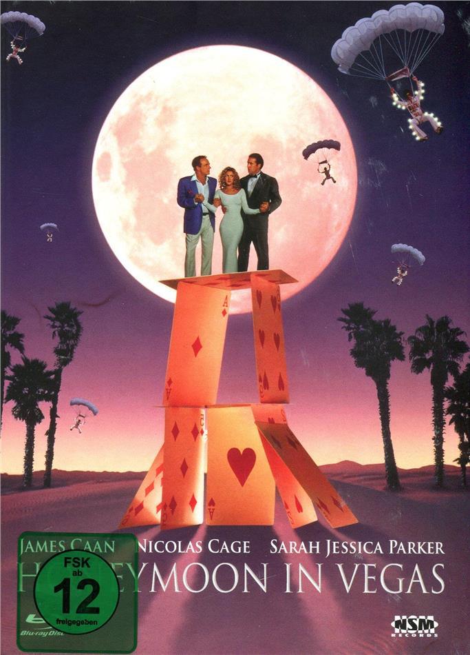 Honeymoon in Vegas (1992) (Cover B, Limited Edition, Mediabook, Blu-ray + DVD)