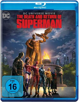 The Death and Return of Superman (2019) (2 Blu-rays)