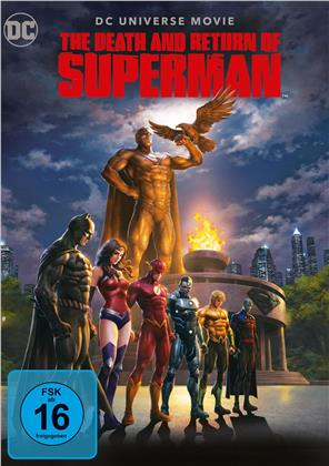 The Death and Return of Superman (2019) (2 DVDs)