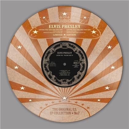 """Elvis Presley - Loving You EP (Limited Edition, Picture Disc, 10"""" Maxi)"""