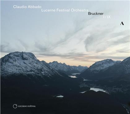 Anton Bruckner (1824-1896), Claudio Abbado & Lucerne Festival Orchestra - Symphonies Nos. 1 & 9 (2 CDs)
