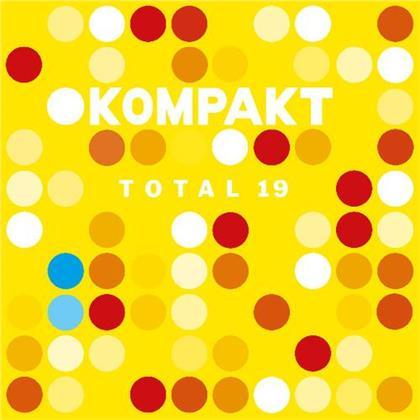 Kompakt Total - Vol. 19 (2 CDs)