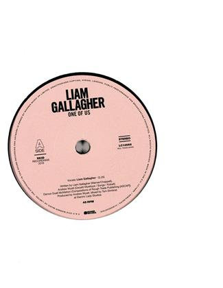"Liam Gallagher (Oasis/Beady Eye) - One Of Us (7"" Single)"