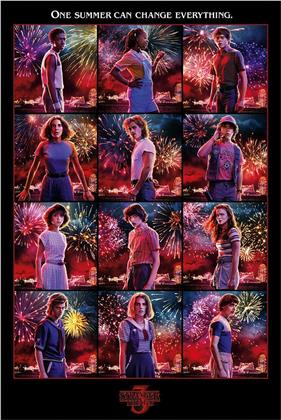 Stranger Things - Character Montage Maxi Poster