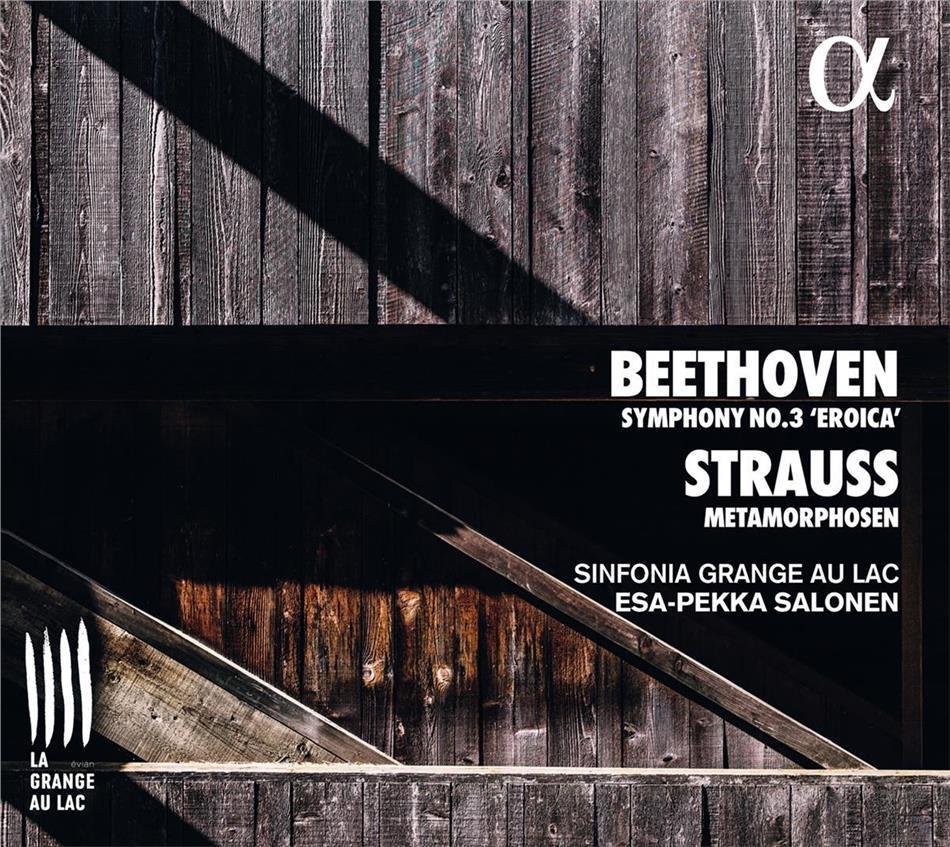 Sinfonia Grange Au Lac, Ludwig van Beethoven (1770-1827) & Esa-Pekka Salonen (*1958) - Symphony 3 / Metamorphosen