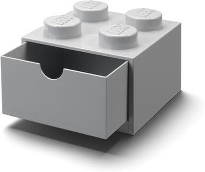 Room Copenhagen - Lego Desk Drawer 4 Knobs Grey