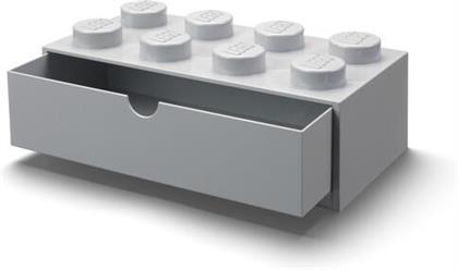 Room Copenhagen - Lego Desk Drawer 8 Knobs Grey