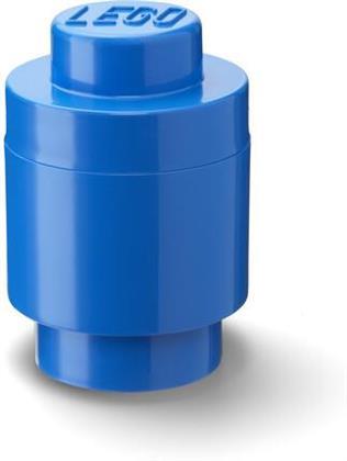 Room Copenhagen - Lego Brick 1 Knob Round Blue