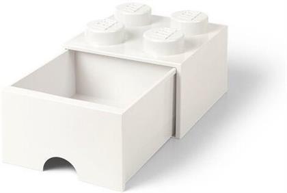 Room Copenhagen - Lego Brick Drawer 4 Knobs White