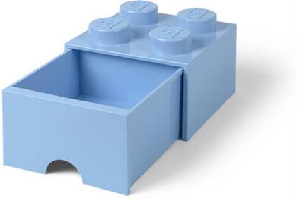 Room Copenhagen - Lego Brick Drawer 4 Knobs Light Blue