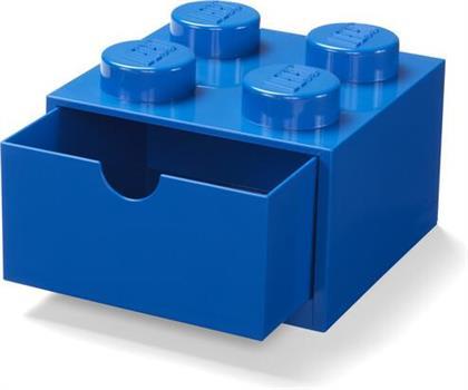 Room Copenhagen - Lego Desk Drawer 4 Knobs Blue