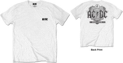 AC/DC Unisex Tee - Black Ice (Back Print/Retail Pack) - Grösse XXL