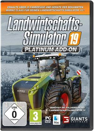 Landwirtschafts-Simulator 19 - Offizielles CLAAS Platinum Add-On (German Edition)