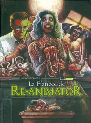La fiancée de Re-Animator (1989) (Mediabook, Blu-ray + DVD)