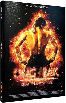 Ong-Bak (2003) (Cover A, Limited Edition, Mediabook, Blu-ray + DVD)