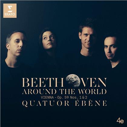 Quatuor Ebene & Ludwig van Beethoven (1770-1827) - Quatuors 7 - 8 Razoumovski