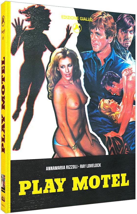 Play Motel (1979) (Cover C, Limited Edition, Mediabook, Blu-ray + DVD)