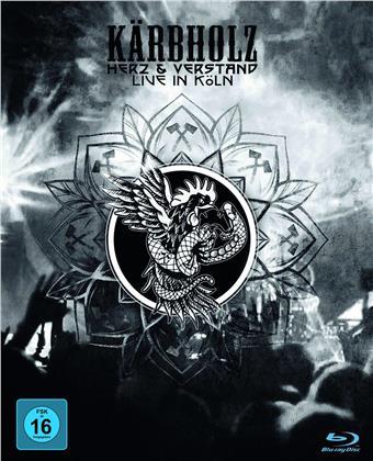 Kärbholz - Herz & Verstand - Live in Köln (Blu-ray + 2 CDs)