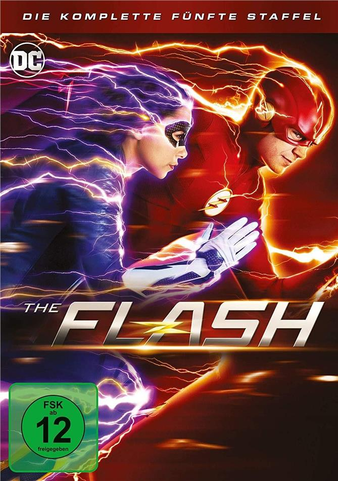 The Flash - Staffel 5 (5 DVDs)