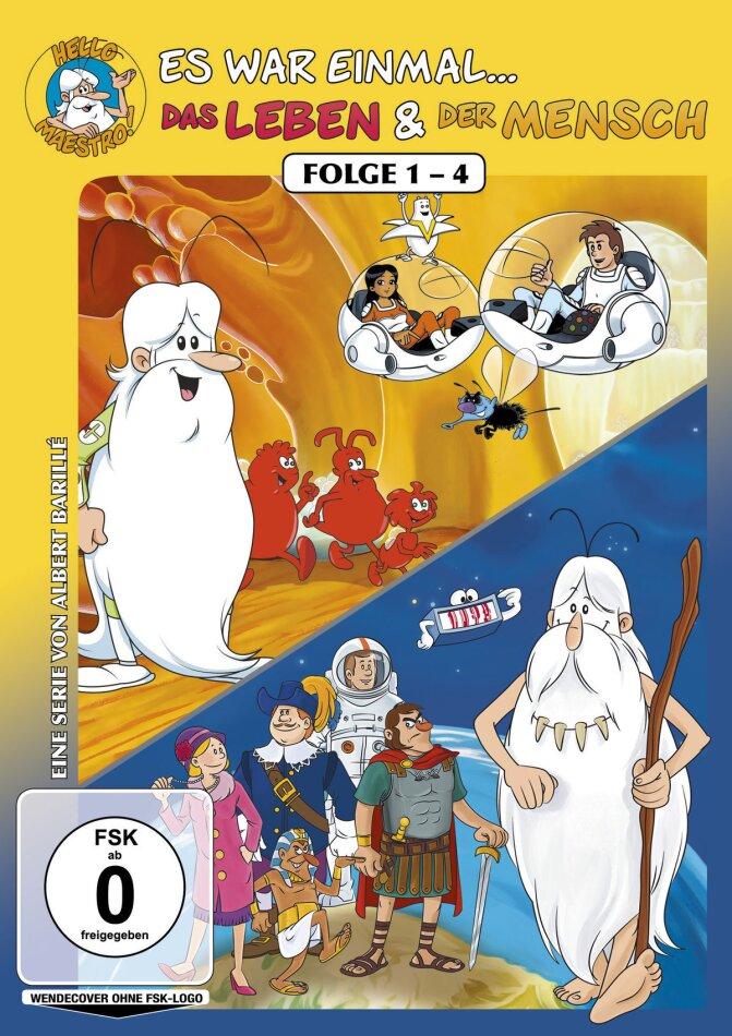 Es war einmal... Das Leben & Der Mensch - Folge 1-4 (2 DVDs)