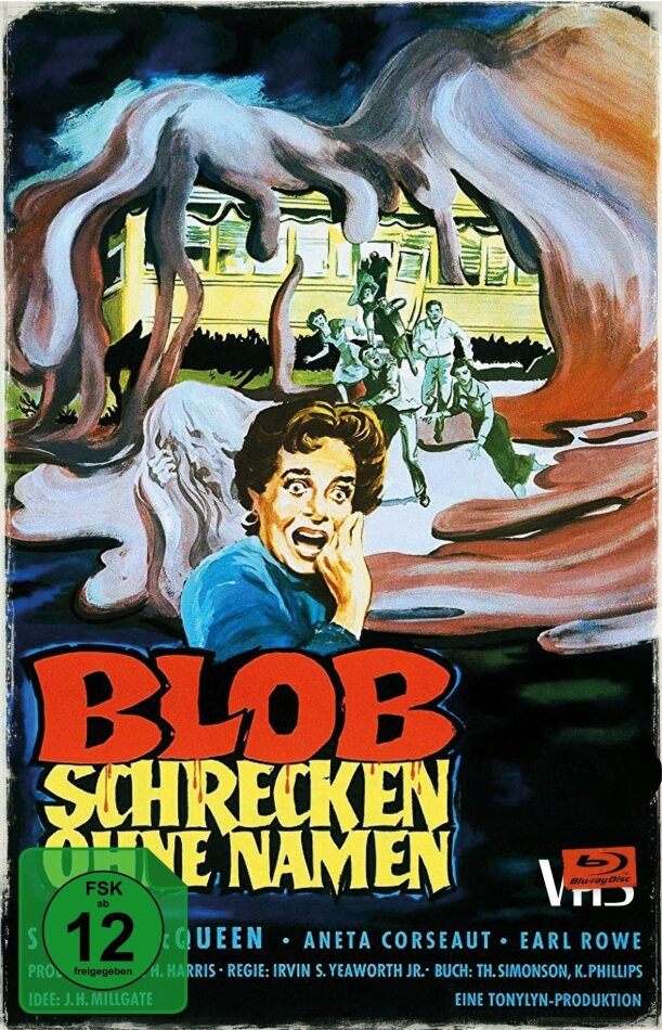 Blob - Schrecken ohne Namen (1958) (VHS-Edition, Limited Collector's Edition)