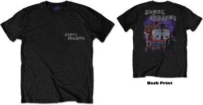 Black Sabbath Unisex Tee - Debut Album (Back Print)