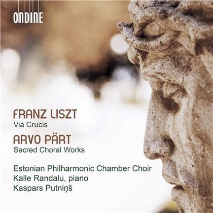 Estonian Philharmonic Chamber Choir & Franz Liszt (1811-1886) - Via Crucis / Sacred Choral Work