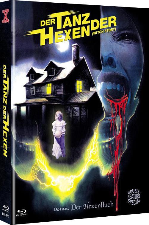 Der Tanz der Hexen (1989) (Cover C, Limited Edition, Mediabook, Uncut, Blu-ray + DVD)