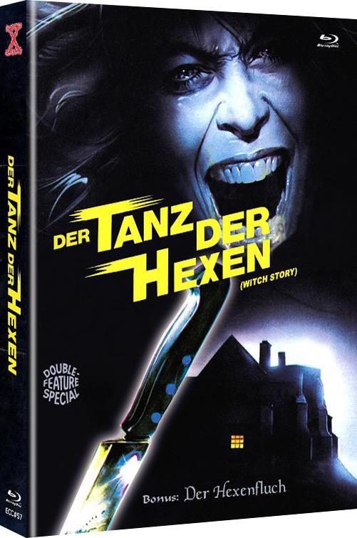 Der Tanz der Hexen (1989) (Cover B, Limited Edition, Mediabook, Uncut, Blu-ray + DVD)