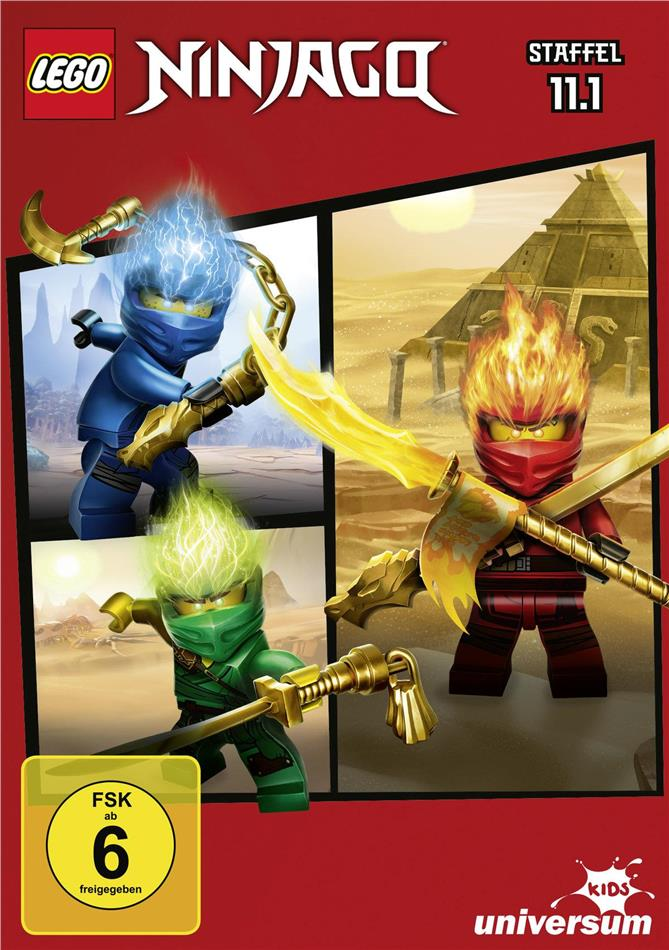 LEGO Ninjago: Masters of Spinjitzu - Staffel 11.1