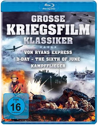 Grosse Kriegsfilm-Klassiker - Von Ryans Express / D-Day – The Sixth of June / Kampfflieger (3 Blu-rays)