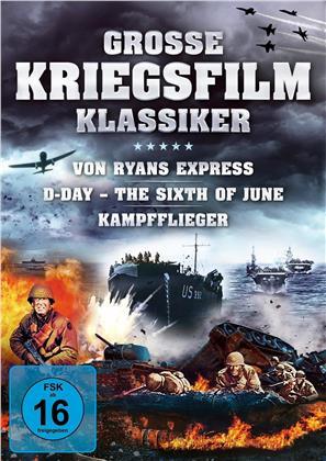 Grosse Kriegsfilm-Klassiker - Von Ryans Express / D-Day – The Sixth of June / Kampfflieger (3 DVDs)