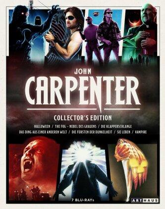 John Carpenter Collector's Edition - Halloween / The Fog / Die Klapperschlange / Das Dign aus einer anderen Welt / Die Fürsten der Dunkelheit / Sie leben / Vampire (7 Blu-ray)