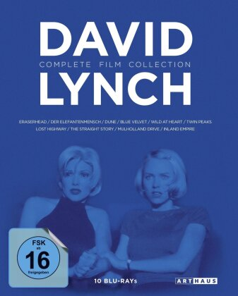 David Lynch (Complete Film Collection, 10 Blu-rays)