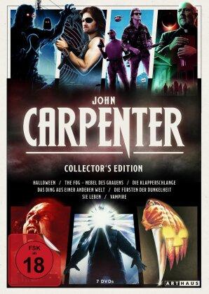 John Carpenter Collector's Edition - Halloween / The Fog / Die Klapperschlange / Das Dign aus einer anderen Welt / Die Fürsten der Dunkelheit / Sie leben / Vampire (7 DVDs)