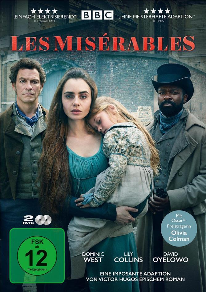 Les Miserables - Mini-Serie (2018) (2 DVDs)