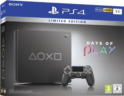 Sony Playstation 4 1TB SLIM - Days of Play 2019 Limited Edition