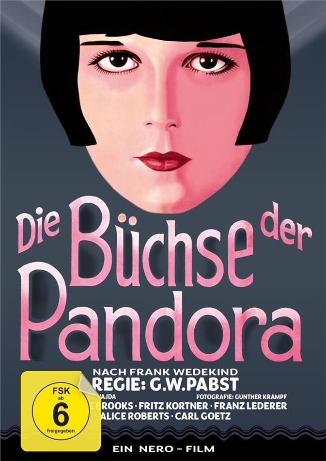 Die Büchse der Pandora (1928) (s/w, Limited Edition, Mediabook, Blu-ray + DVD)