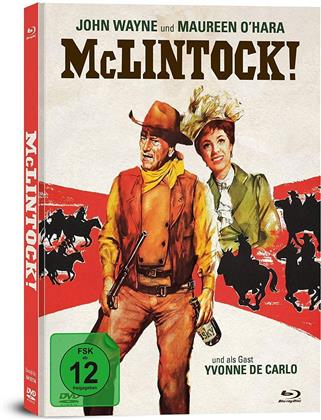McLintock (1963) (Limited Collector's Edition, Mediabook, Blu-ray + DVD)