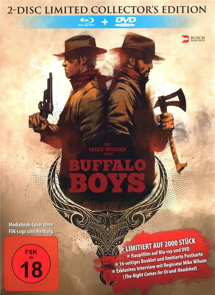 Buffalo Boys (2018) (Limited Edition, Mediabook, Uncut, Blu-ray + DVD)