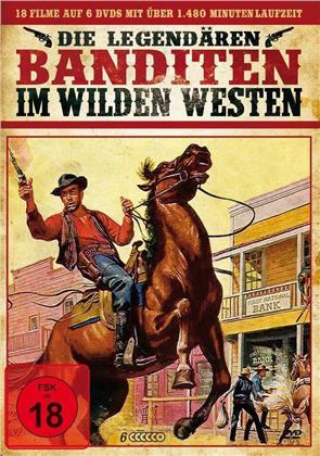 Die legendären Banditen im Wilden Westen (6 DVDs)