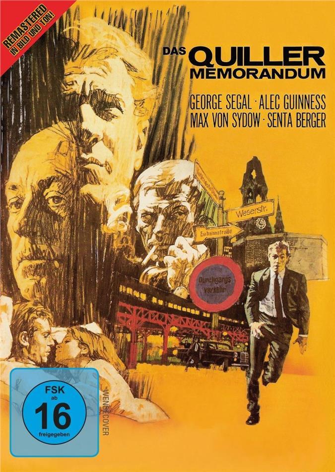 The Quiller Memorandum (1966) (Remastered)