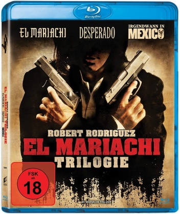 El Mariachi Trilogy - El Mariachi / Desperado / Irgendwann in Mexico (Neuauflage, 2 Blu-rays)