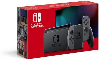 Nintendo Switch Konsole grau - (neues Model mit mehr Akkuzeit)