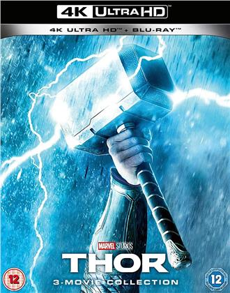 Thor 1-3 - 3-Movie Collection (3 4K Ultra HDs + 3 Blu-ray)