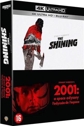 2001: L'odyssée de l'espace / Shining (2 4K Ultra HDs + 2 Blu-rays)