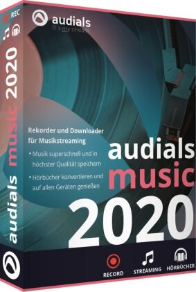 Audials Music 2020 (Code in a Box)